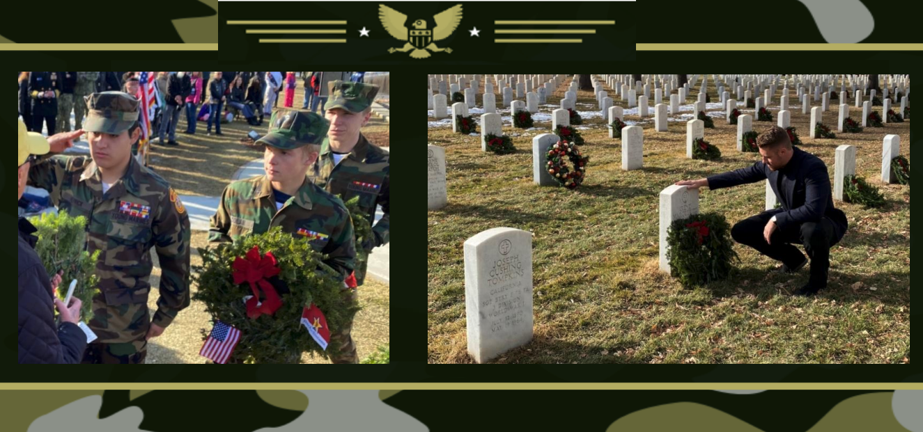 Every year, Bill Bradley, owner of 5280 Waste and Starlight software in Denver, Colorado supports Wreaths Across America.