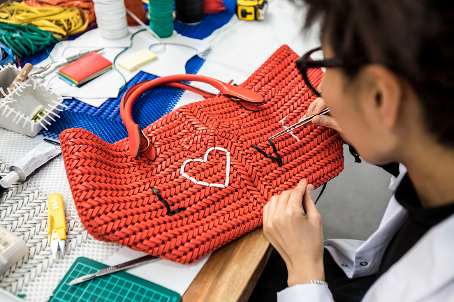Anya Hindmarch Weave Project
