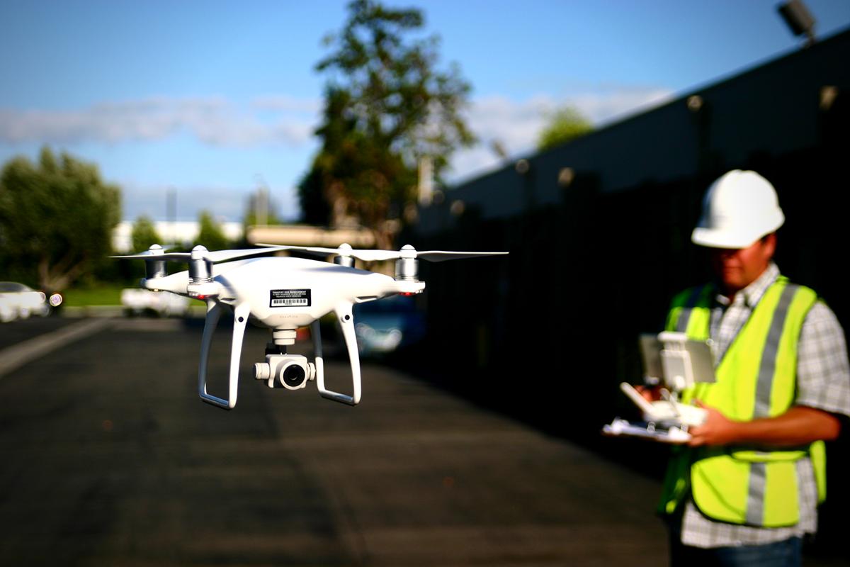 Drones Surveying