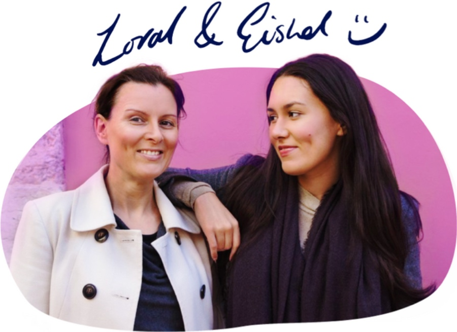 Sustainably co-founders Loral and Eishel Quinn