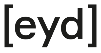 Logo des Modelabels [eyd]