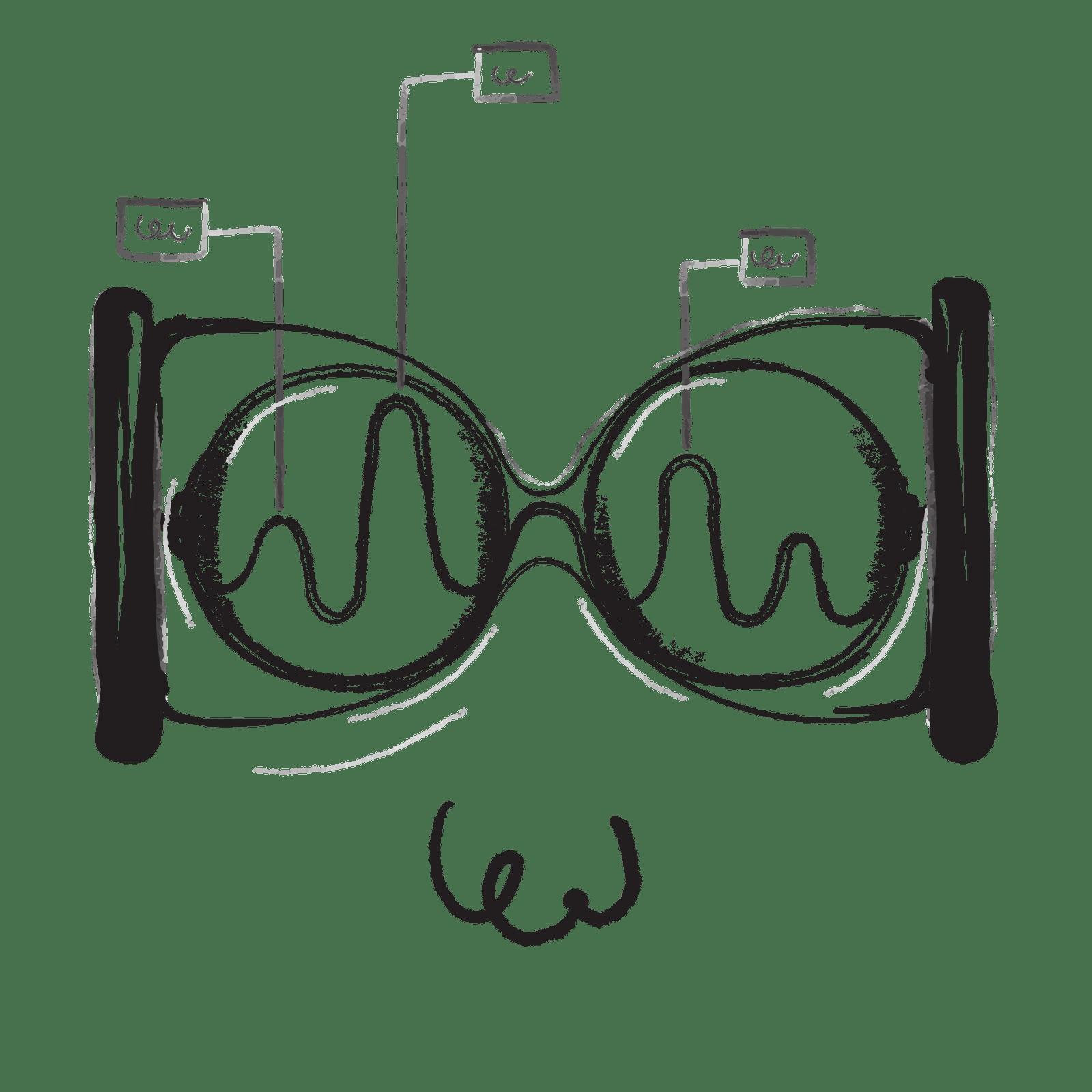 Illustrierter magnetischer Kreislauf