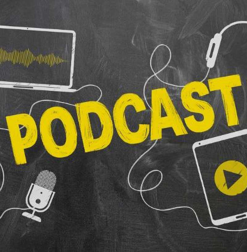List of podcasts for crafters, makers and creative businesses