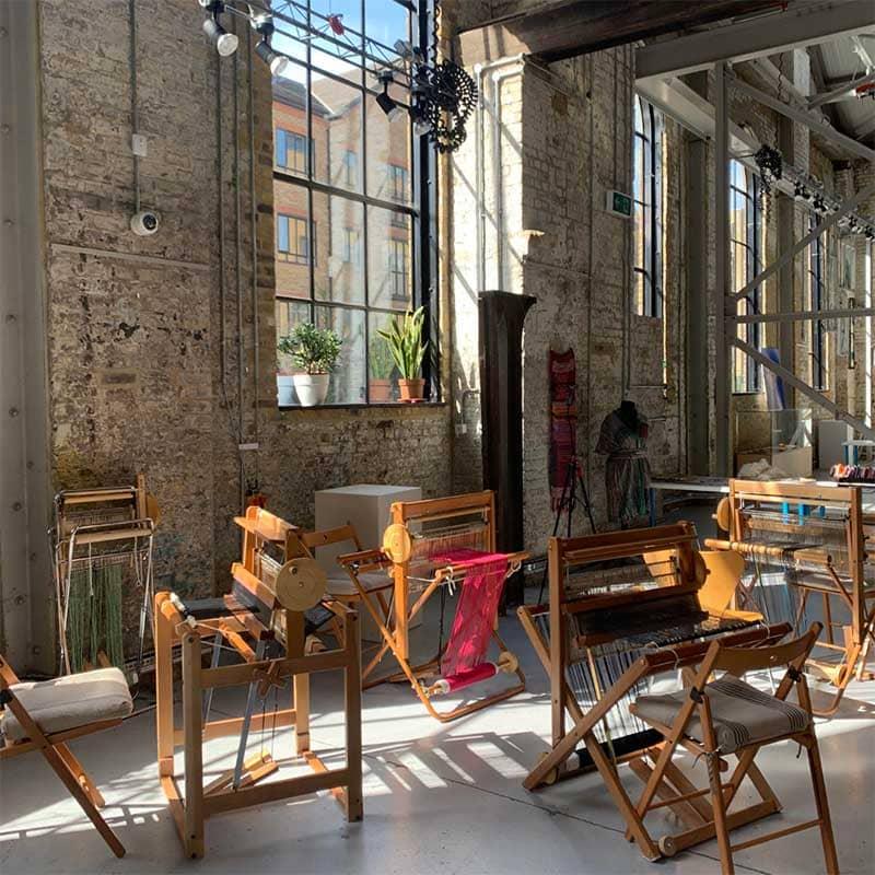 Weaving workshop with Freeweaver Saori Studio