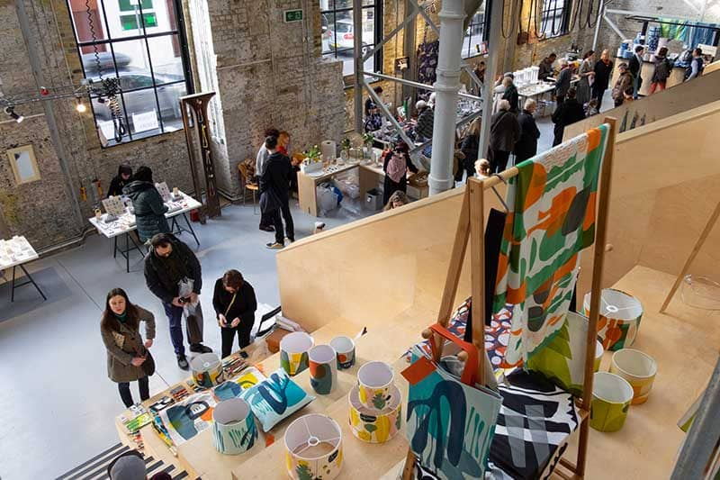 Makers in the Gallery space