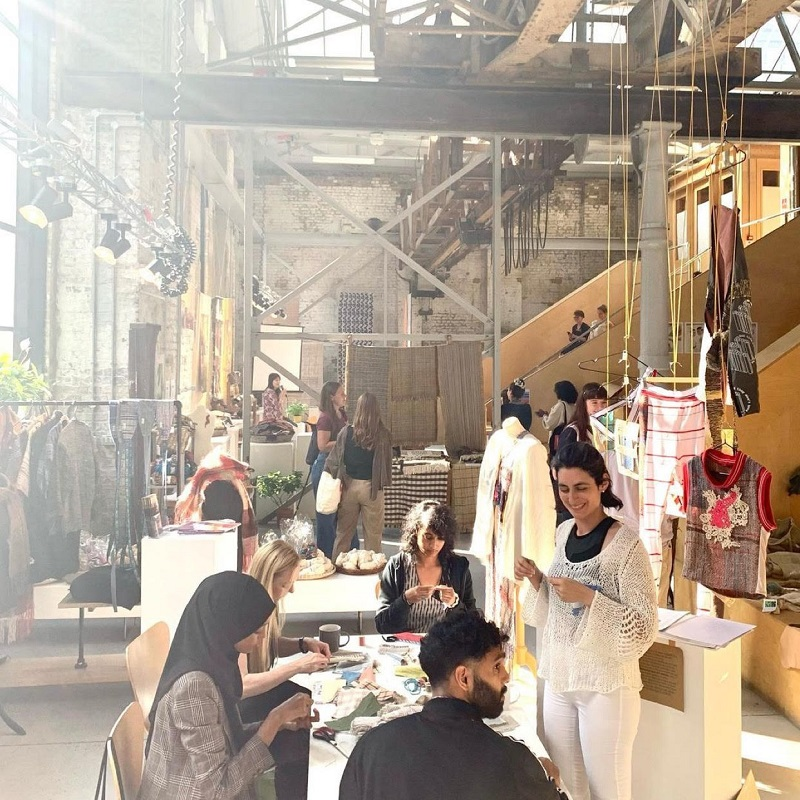 Festival of Natural Fibres in London focusses on fabric and fashion to combat climate change