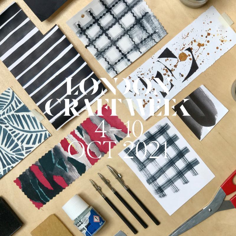 London Craft Week - Programme Announced 2021