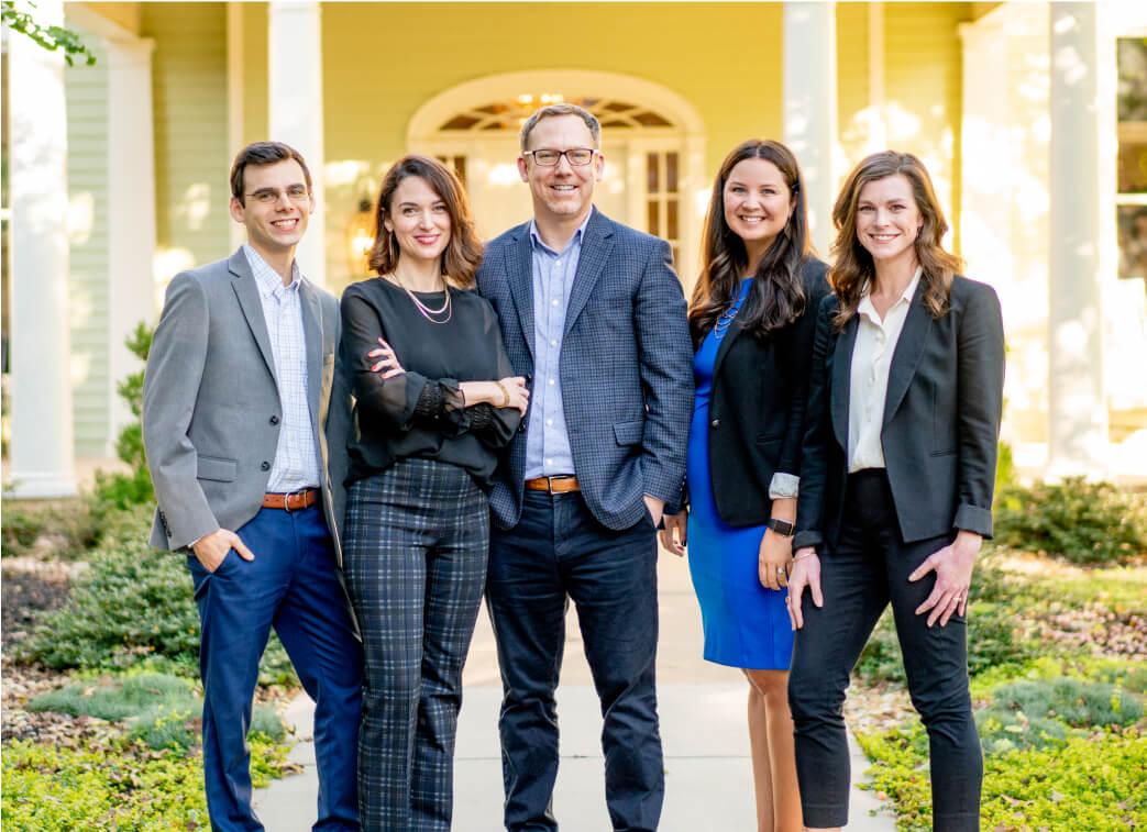 Group of financial advisors from Elwood & Goetz, image