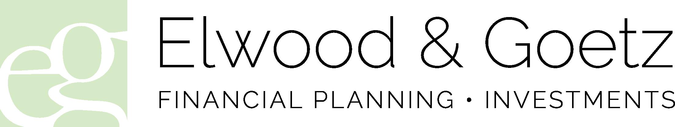 Elwood & Goetz  Wealth Advisory Group black logo