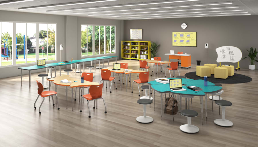 Engage students with furniture that inspires communication and critical thinking.