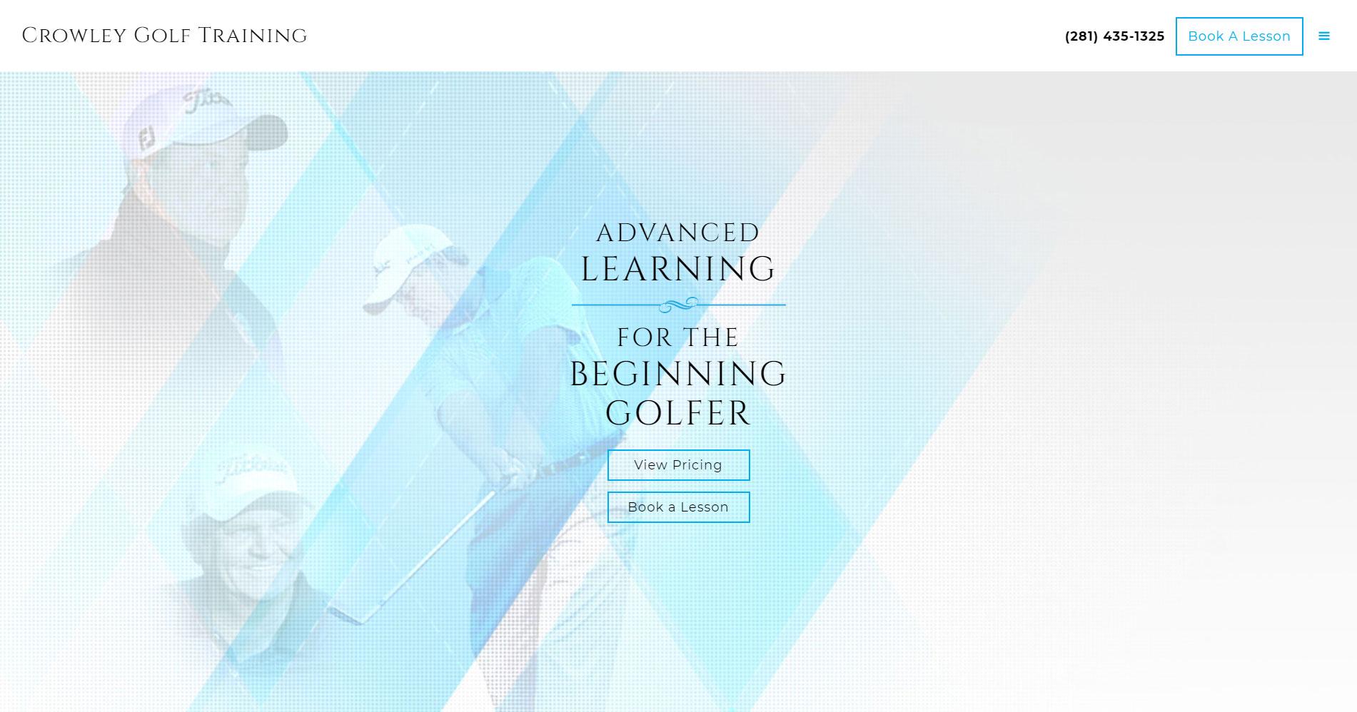 Crowley Golf Training