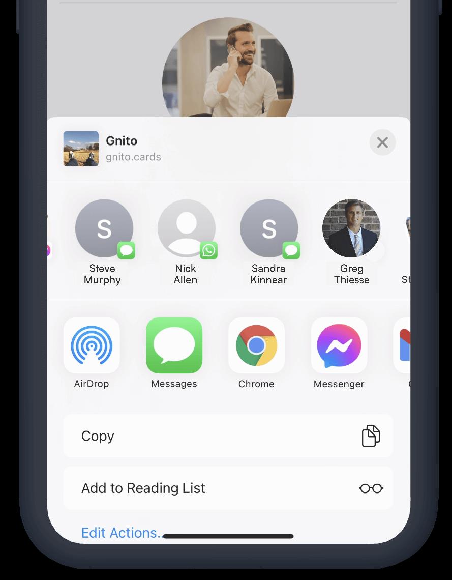 gnito screenshot