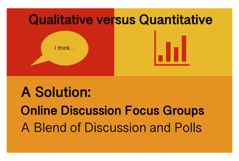 Qualitative vs Quantitative Research: 9 Pros of Online Discussion