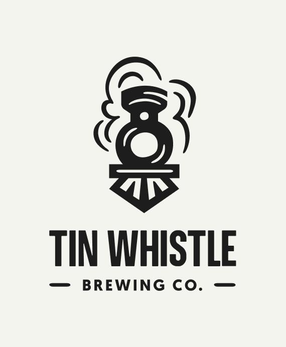 Tin Whistle Logo Dark Train