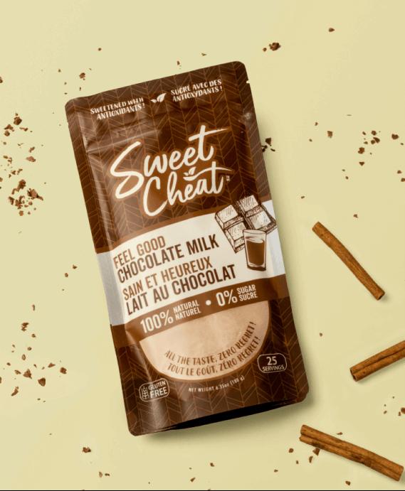 Sweet Cheat Chocolate Milk Packaging