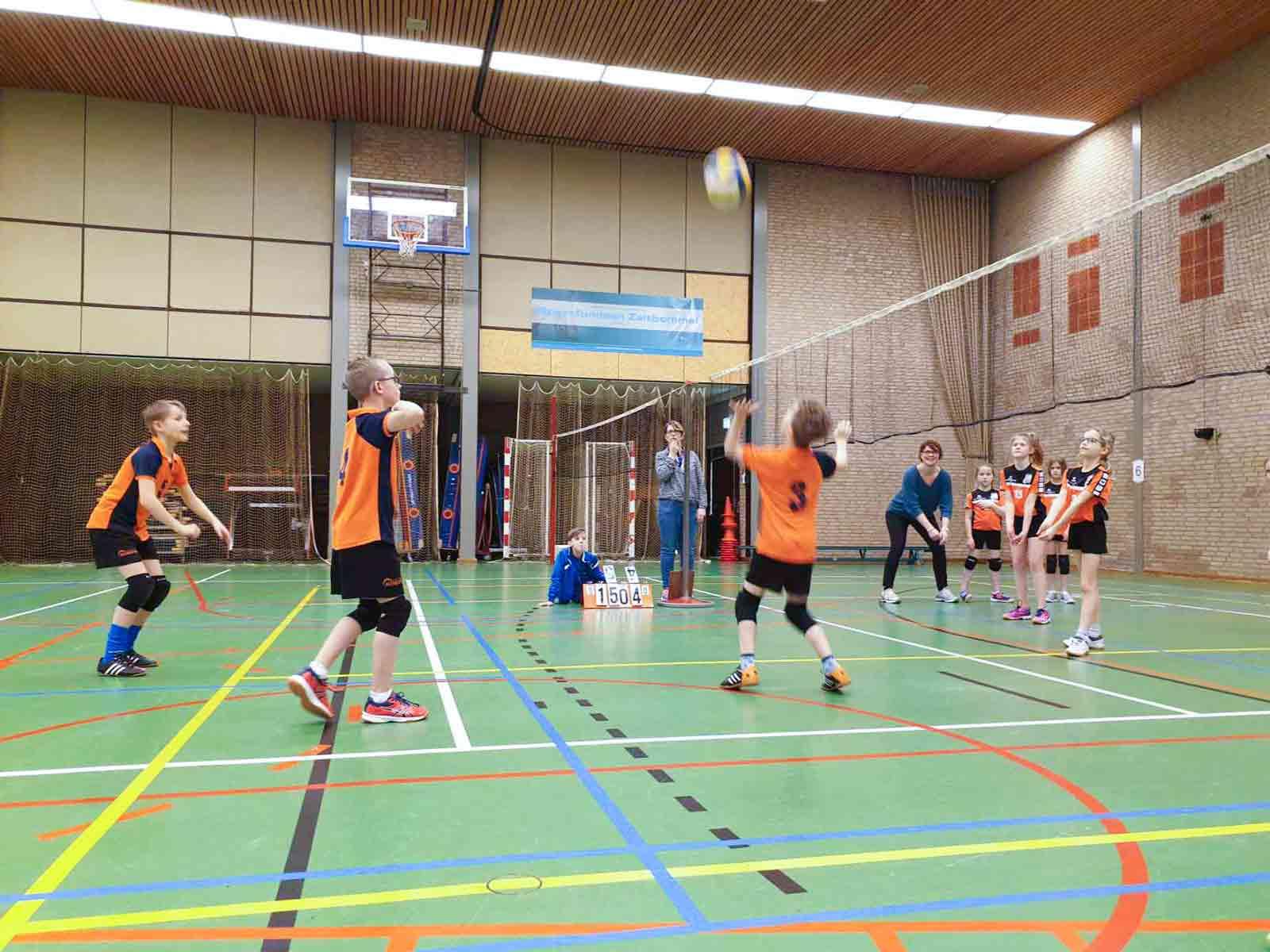 Volleybal voor de jeugd!