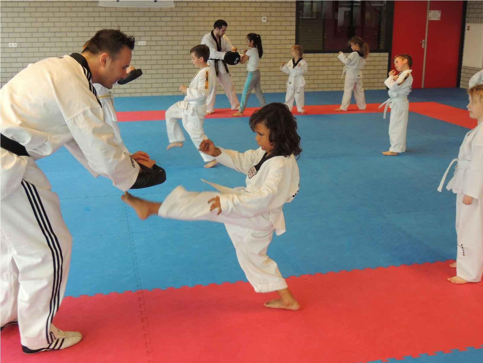 Taekwondo en zelfverdediging