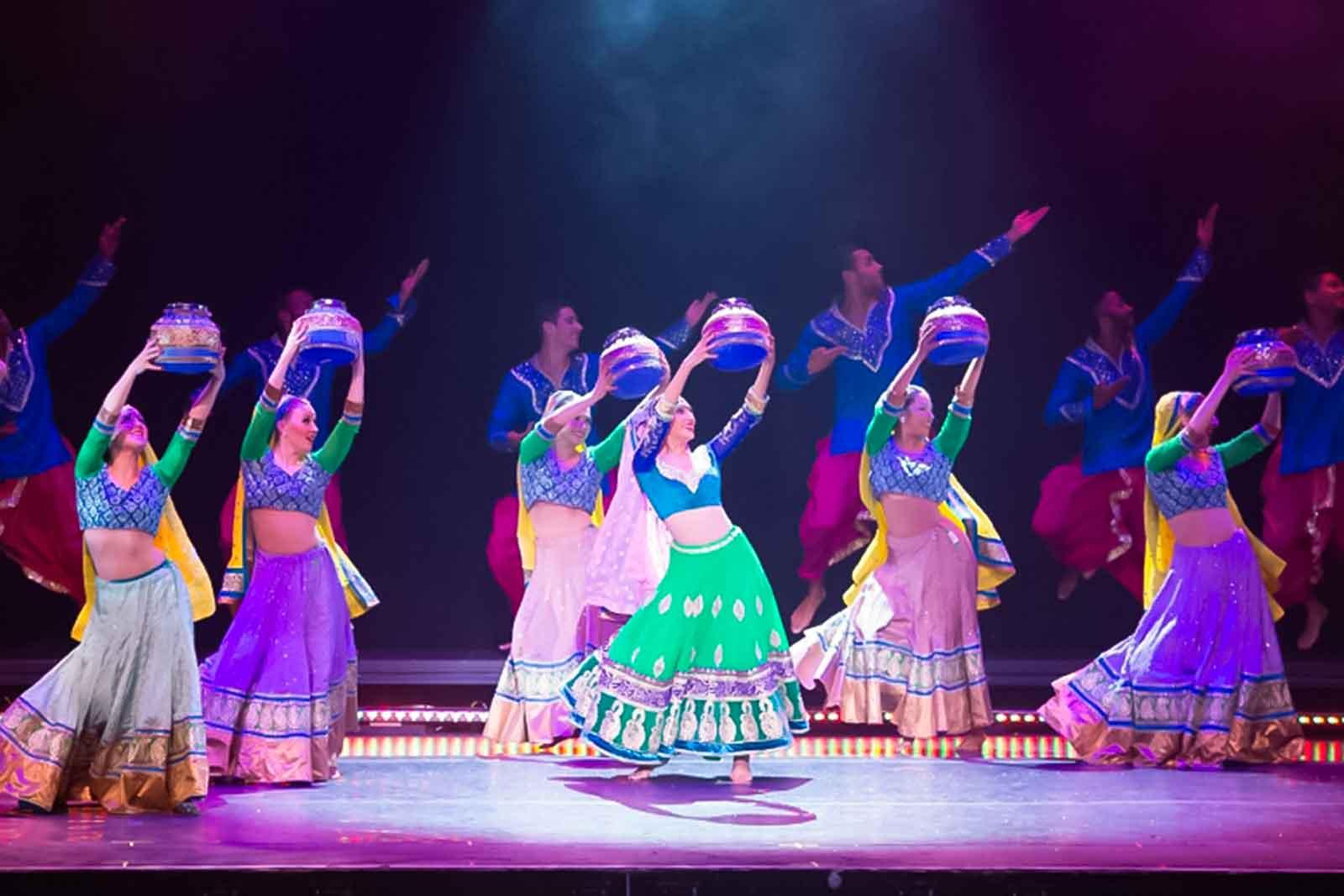 Bollywood dansen