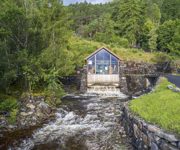Hydro Dam, Smakraft Alsaker, Norway
