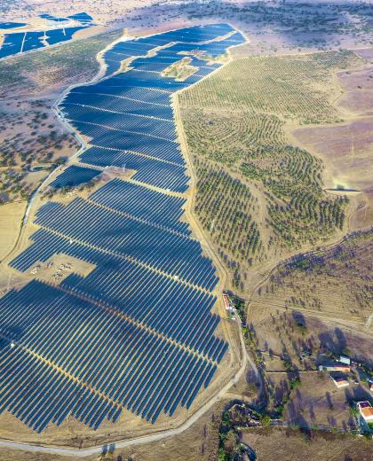 Ourique Solar Farm, Portugal