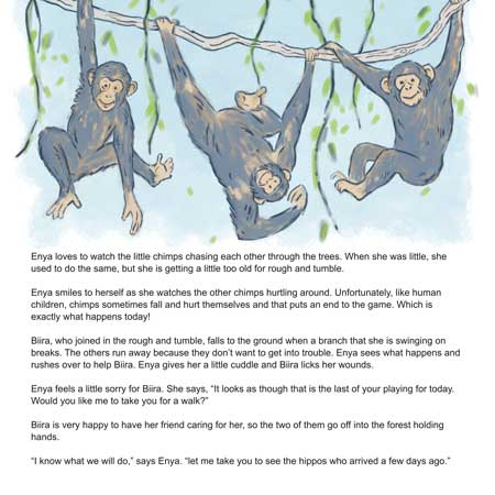 Chimps of Kyambura inner page