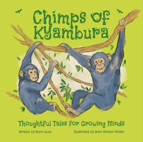 Chimps of Kyambura children's book
