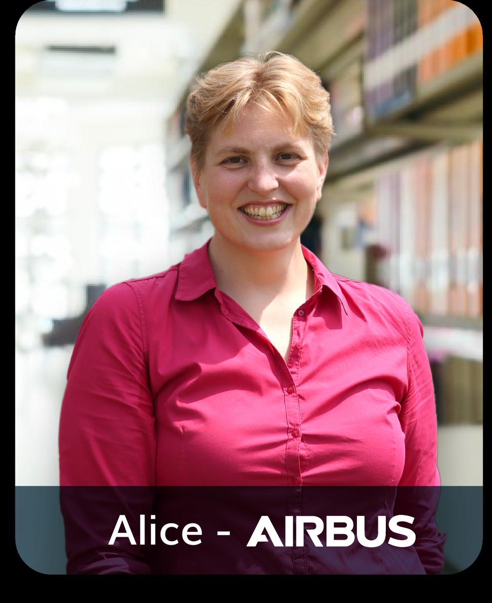 Alice Airbus positive leader