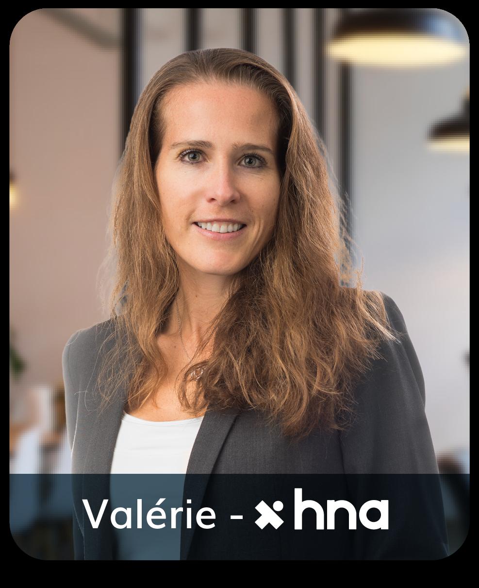 Valérie HNA positive leader