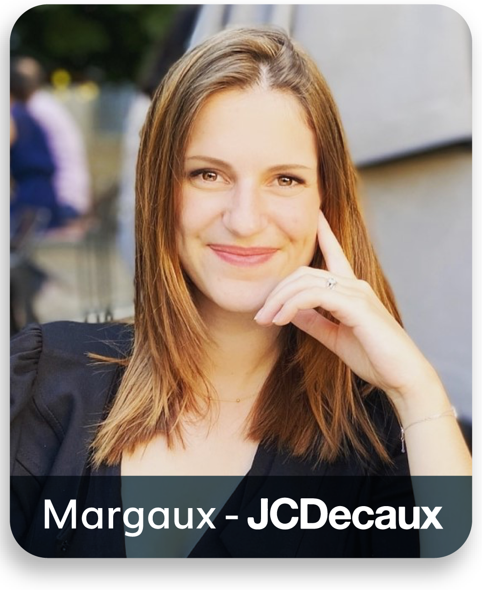 Margaux JC Decaux positive leader