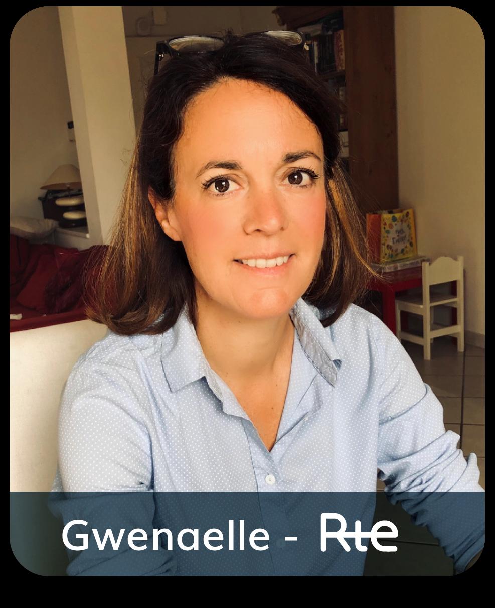 Gwenaelle RTE positive leader