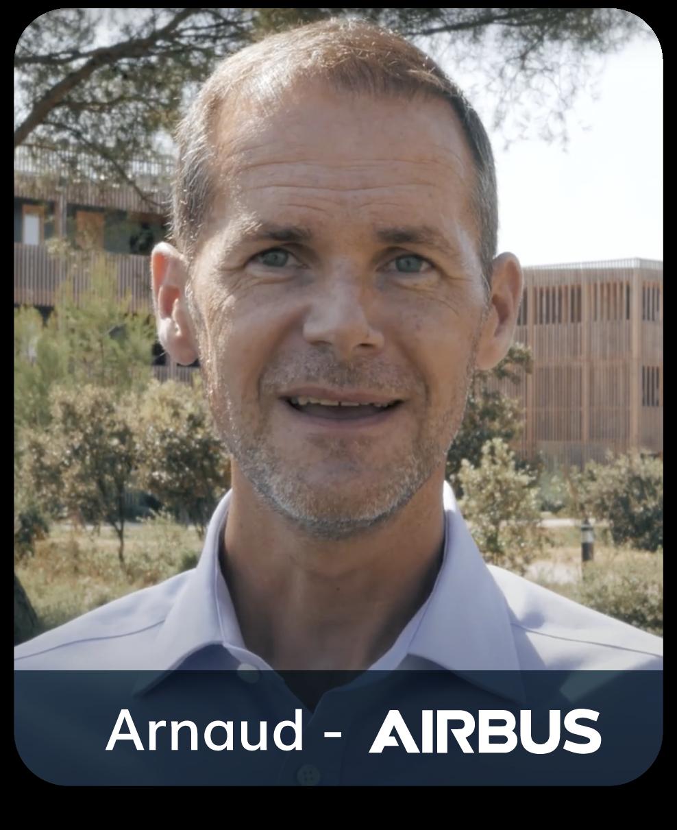 Arnaud Airbus positive leader