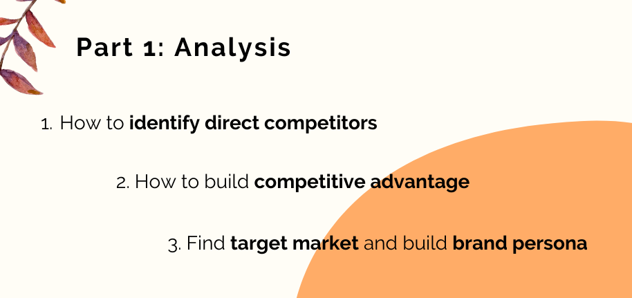 how to run an analysis before promoting an online course