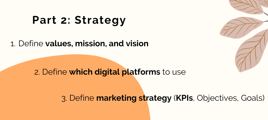 how to define your marketing strategy and the promotion strategy for online courses