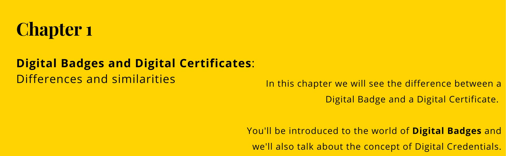 Chapter 1: what are digital badges