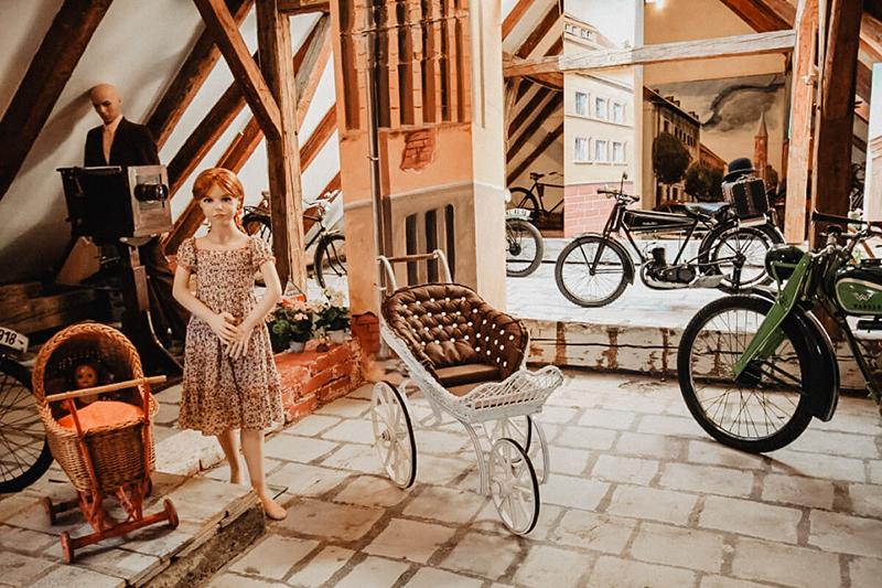 Muzeum motocyklů a hraček v Kašperských Horách