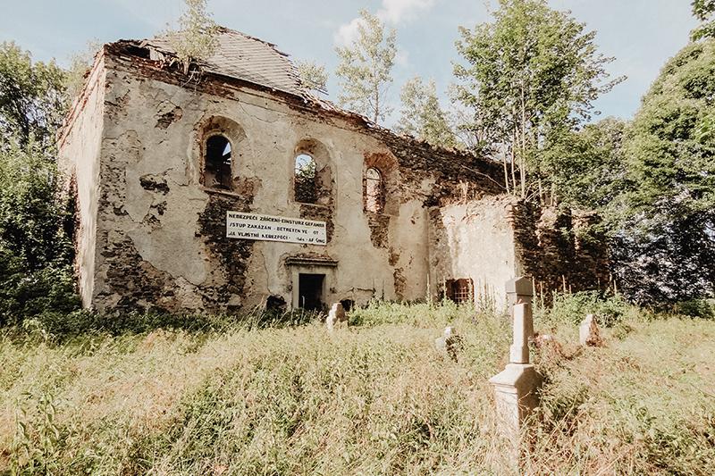 Poutní místo Svatá Anna u Pořejova