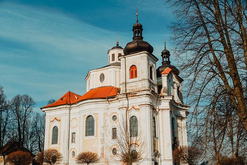 Poutní kostel v Nicově