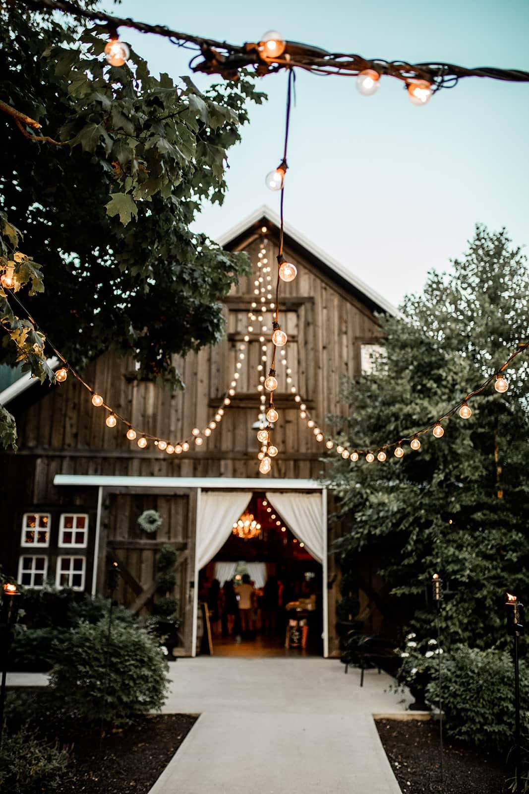 Decorated barn