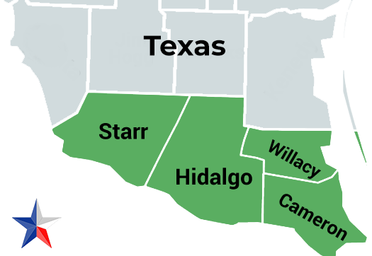 areas serviced by RGV Concrete Stain