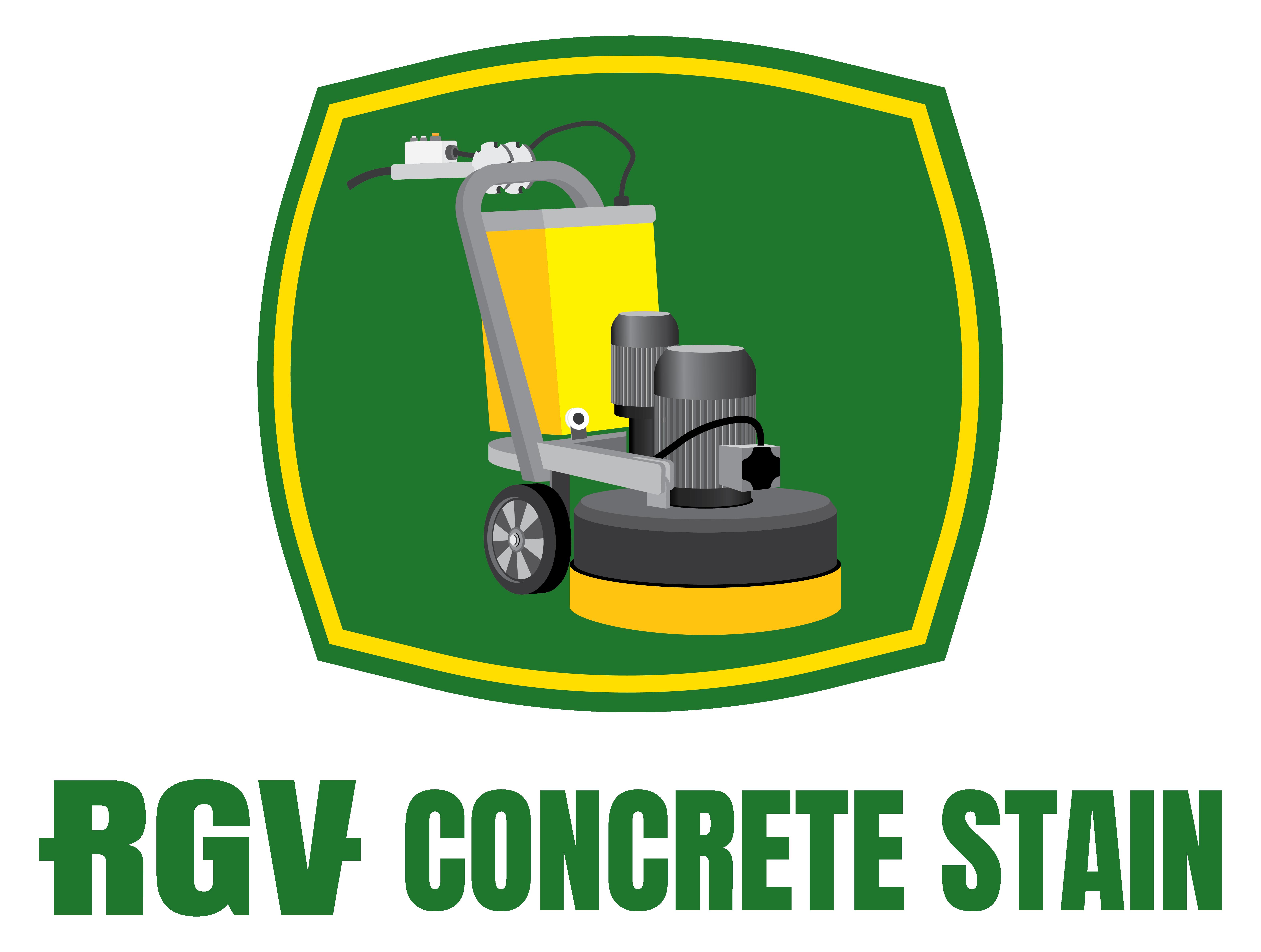 RGV Concrete Stain Logo