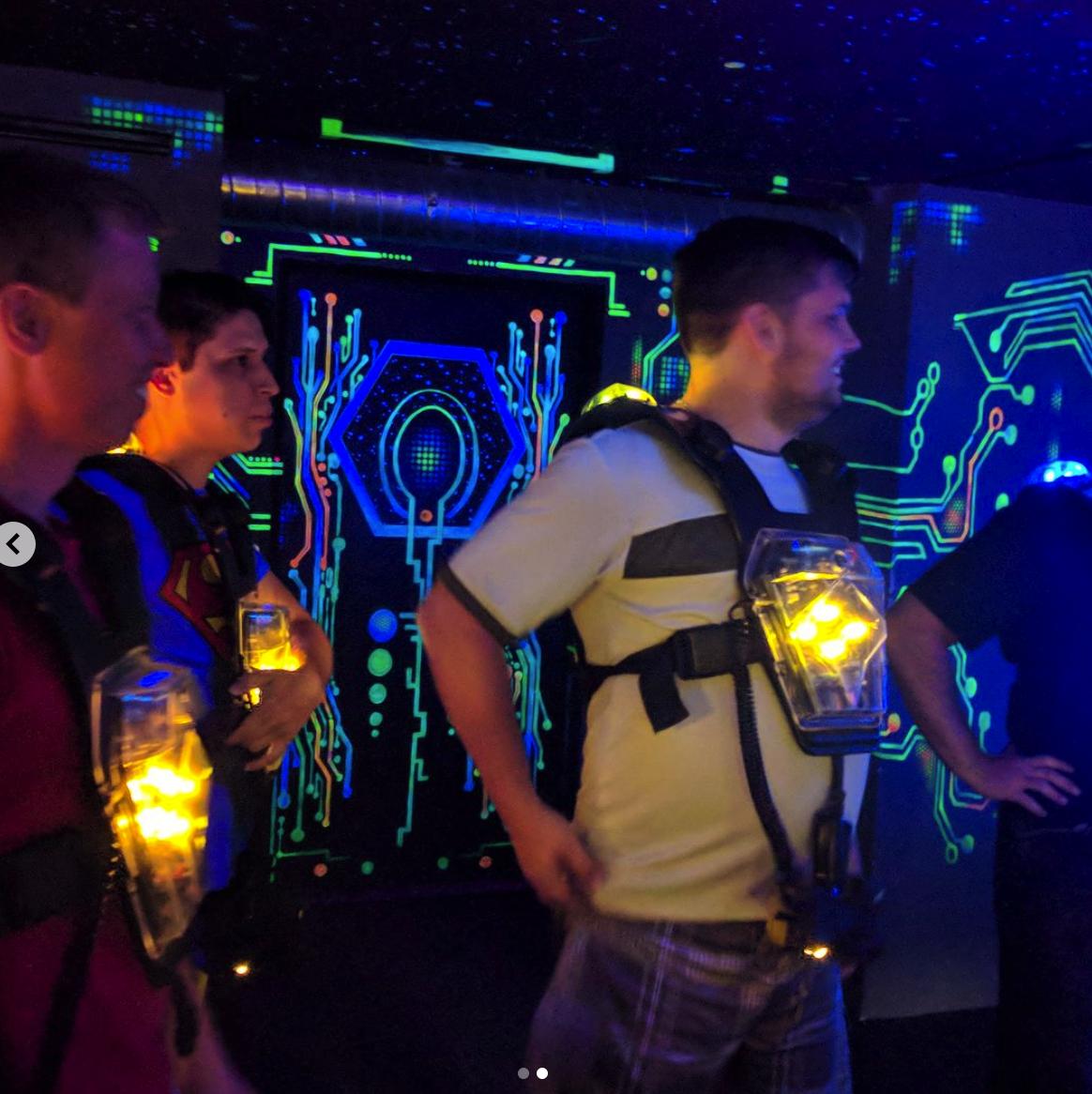 Lasergame jako teambuilding