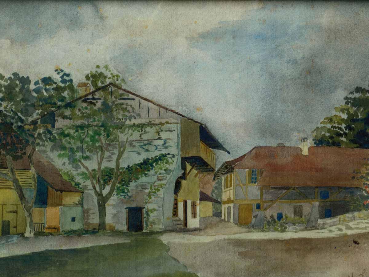 Gemälde Restaurant Burehuus