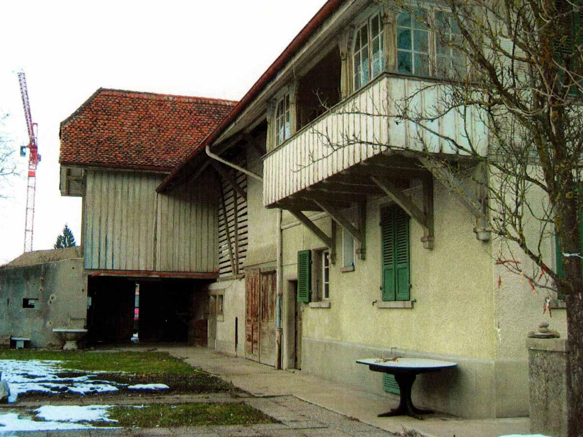 Restaurant Burehuus vor dem Umbau von aussen