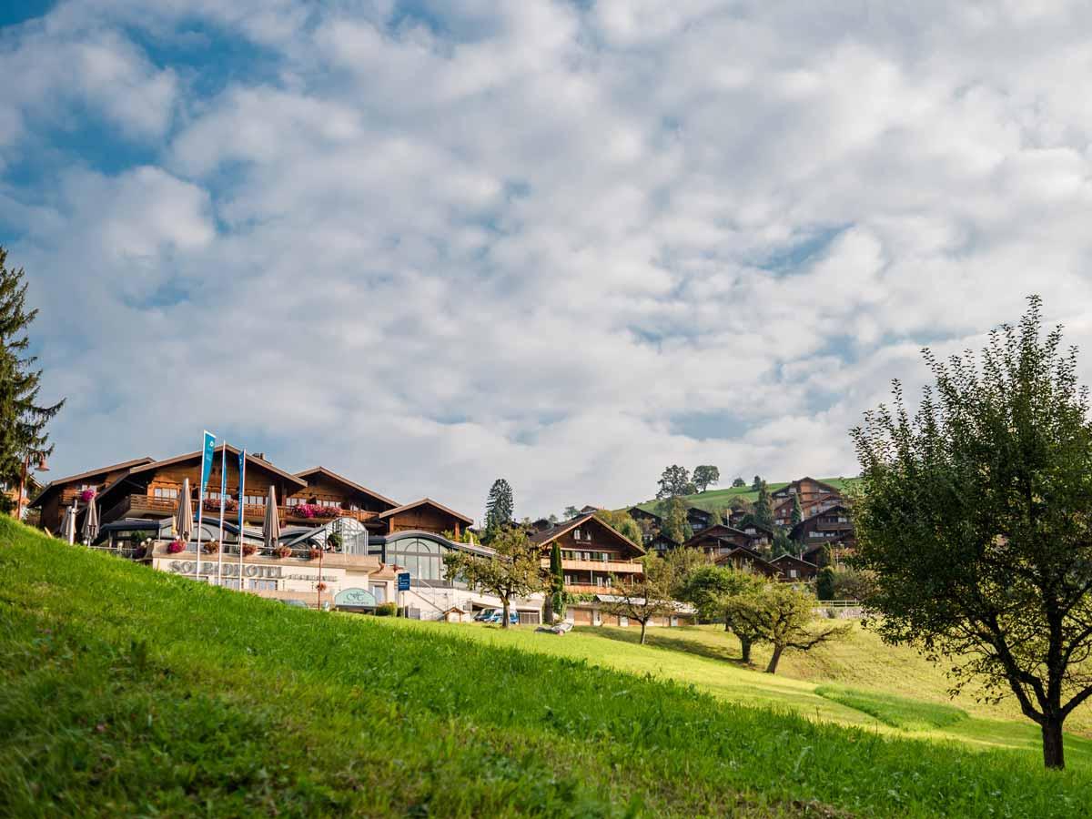 Solbadhotel Sigriswil von aussen