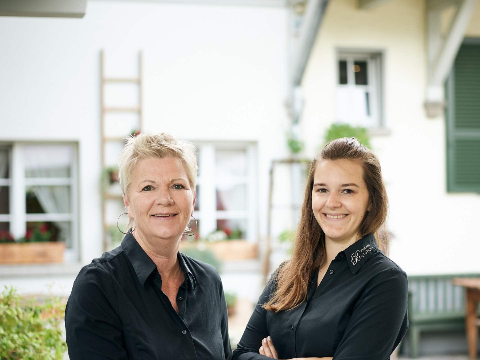 Gastgeberinnen Restaurant Burehuus