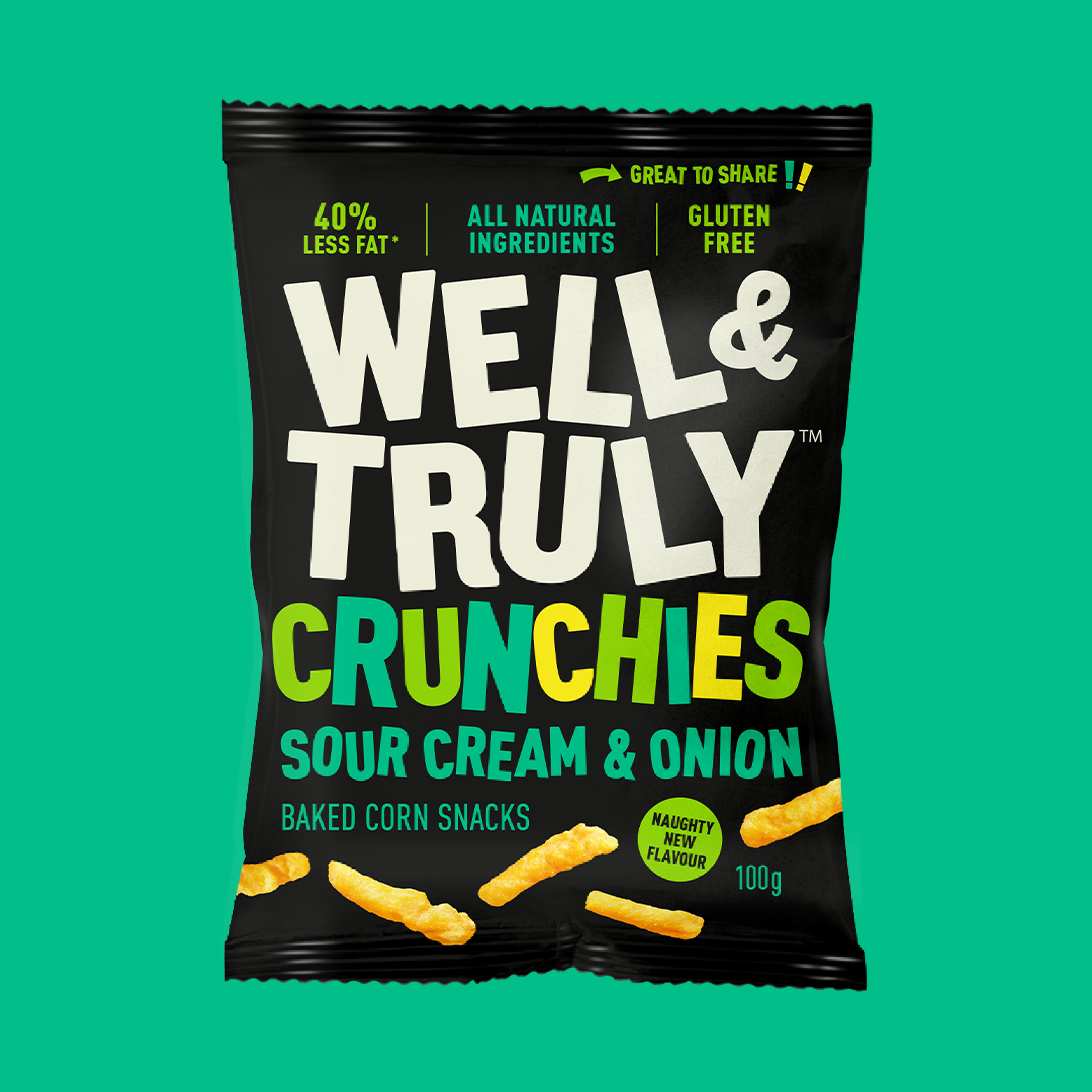Well & Truly Flavour: Sour Cream and Onion