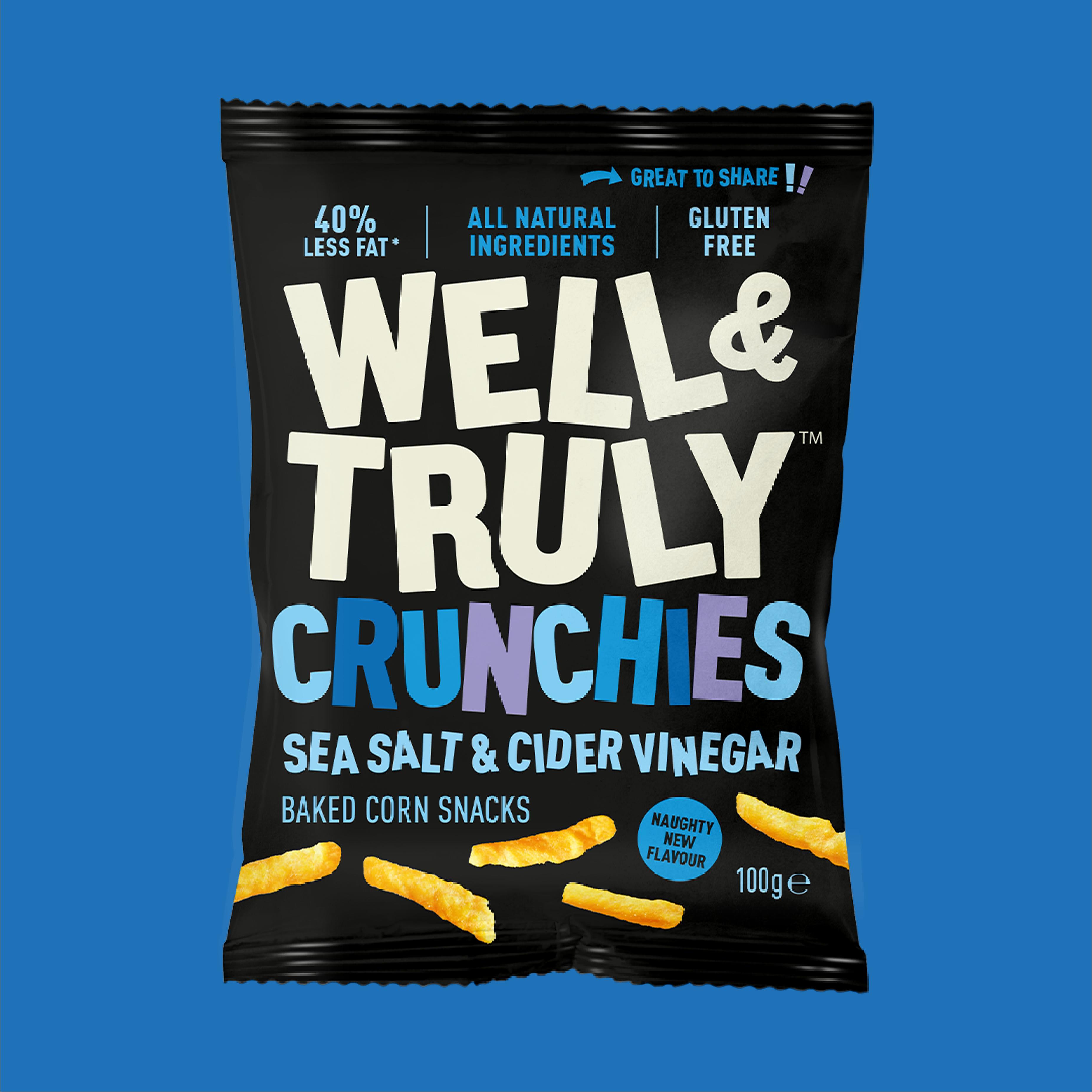 Well & Truly Flavour: Sea Salt & Cider Vinegar