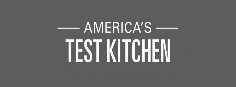 America's Test Kitchen logo grayscale