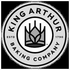 King Arthur Baking logo grayscale
