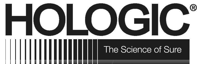 Hologic logo grayscale